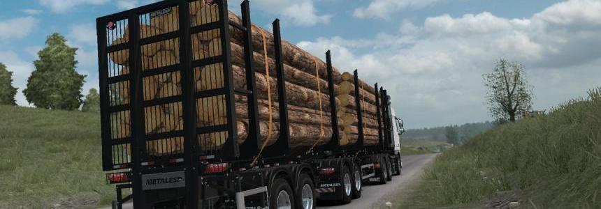 Metalesp Bi-Train Wood Transport 7 Axles v0.3