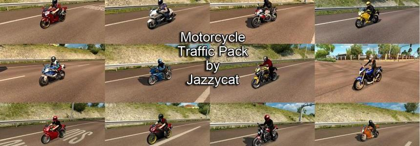 Motorcycle Traffic Pack by Jazzycat v1.8