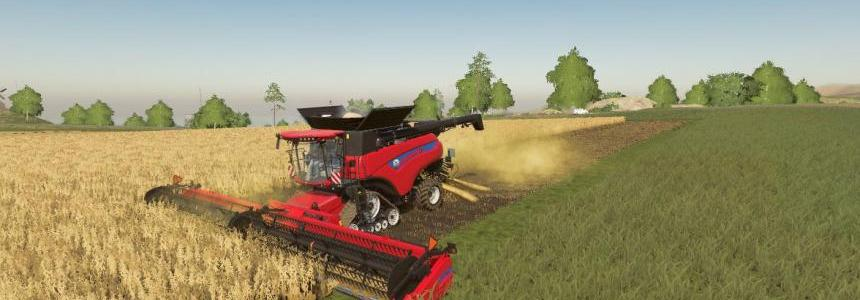 New Holland combine and header pack v1.0