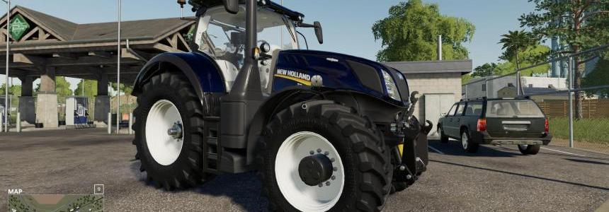 New Holland T7 Blue Chrome Power v1.0
