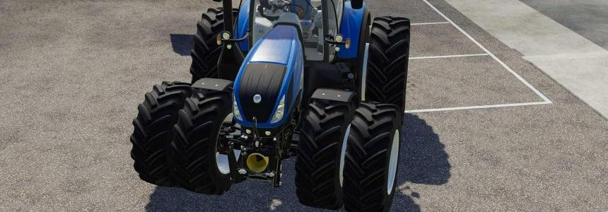New Holland T7 Series with Michelin Double Wheels v1.0