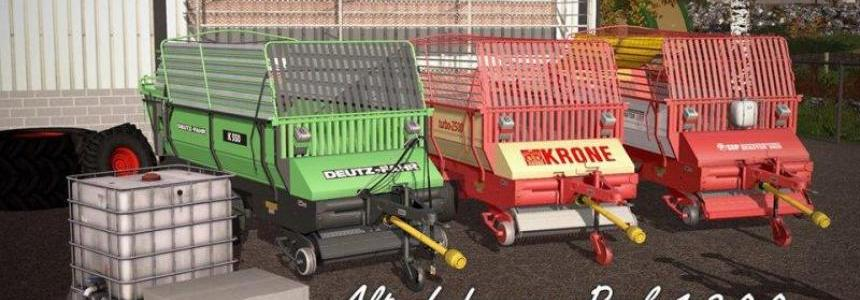 Old forage wagons pack v1.2.0.0
