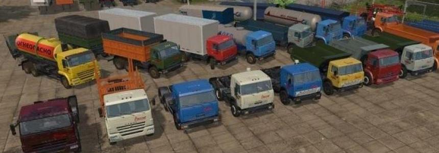 Pack Kamaz for Map Russia v1.2