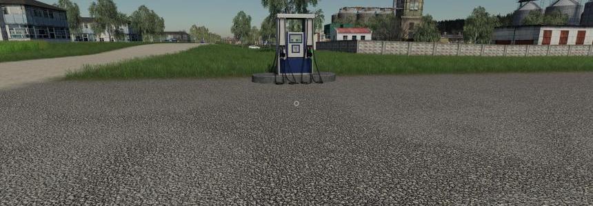 Placeable Gas Station v1.0