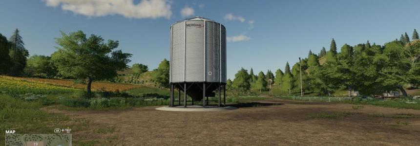 Placeable Meridian Metal Seeds Station v1.0