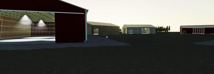 Placeable Sheds Pack v1.0