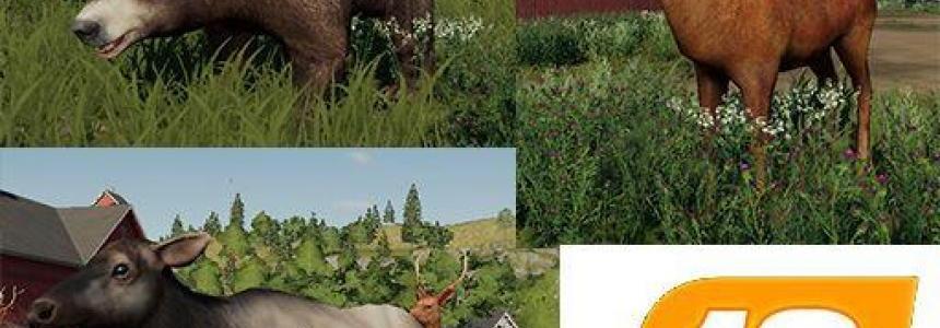 Platzierbaren Wildtiere v1.0