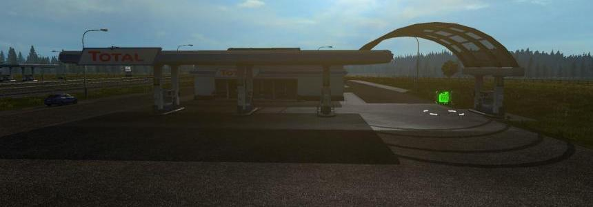 Realistic Big Fuel Stations 1.32.x