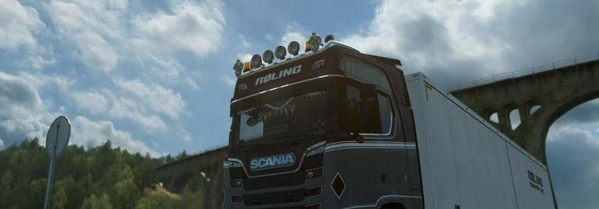 Scania S & R Exhaust Stack Sound v1.0 1.32.x