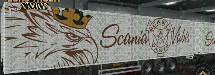 Scania Vabis Gold Ownership Trailer Skin v1.0