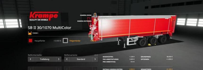 Stapler SB3060 - MultiColor 150.000l v1.0