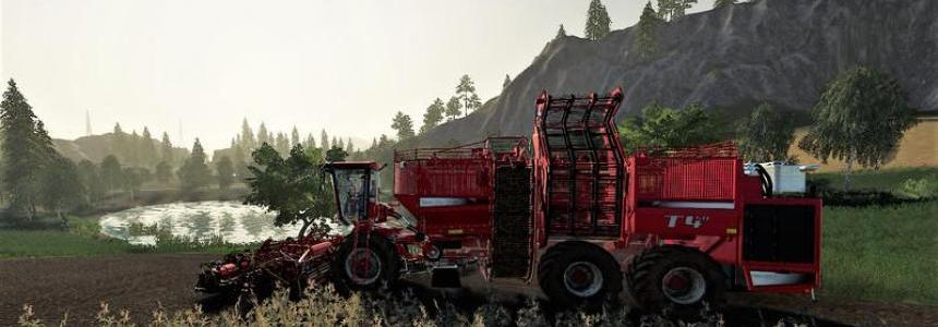 Terra Dos T 4_40 + Holmer HR 12 cutting unit (potato only) v1.0