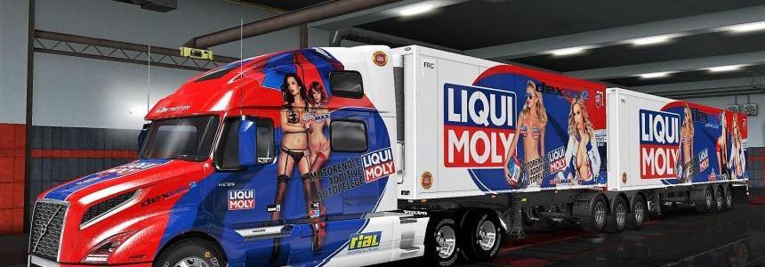 Volvo VNL 2019 + Liqui Moly ownership trailer fixed 1.32