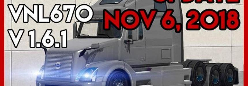 Volvo VNL 670 v1.6.1 by ARADETH for ATS (Official Update)