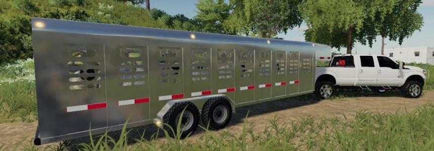 Wilson Ranch Hand Livestock trailer v1.0