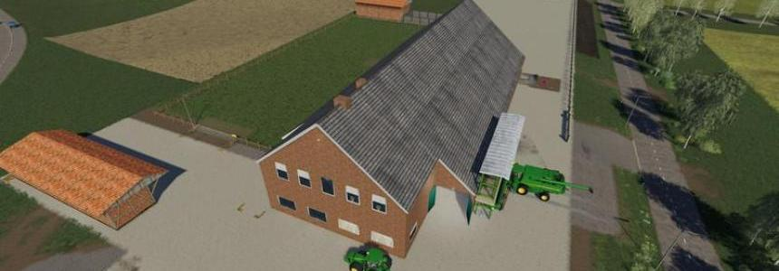 Yard with cowshed and willow beta v2.0