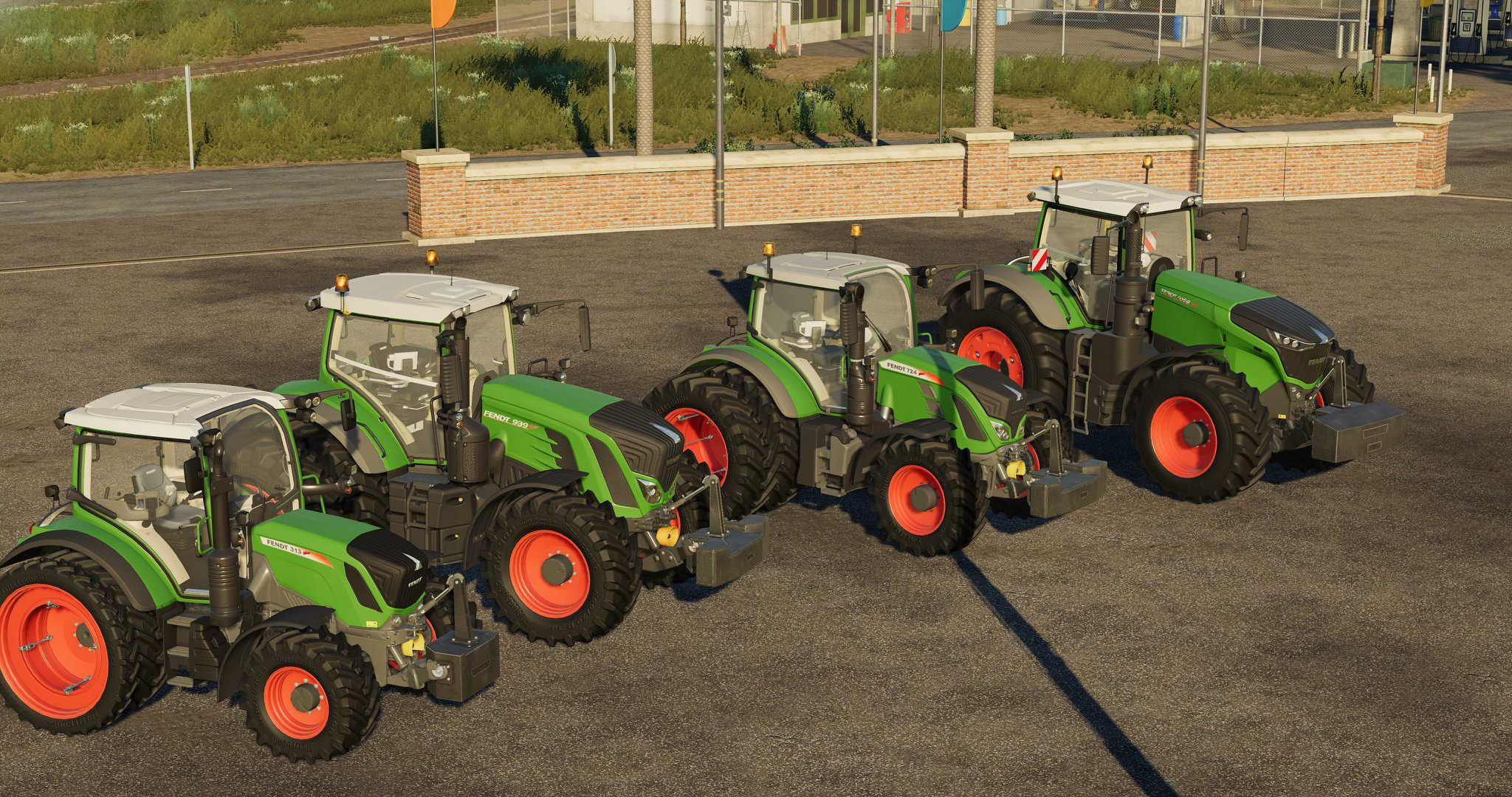 Fendt Weight Pack v1.0