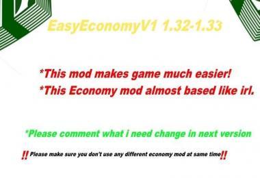 Easy Economy Mod v1.0 [1.32-1.33]