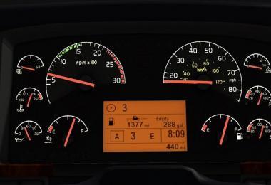 SCS Volvo VNL Dashboard v2.0
