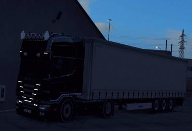 Scania 164L + Krone Trailer 1.32 Fix