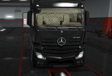 Mercedes Actros MP4 Low Cab Interior 1.32.x