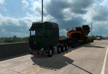 Mercedes Big Stars (Actros/Arocs SLT) for ATS 1.32.x