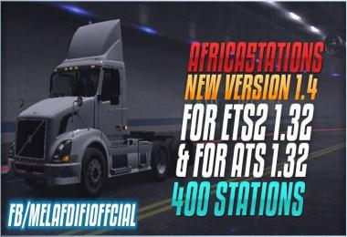 Africa Stations v1.4 For ETS2 and ATS 1.32