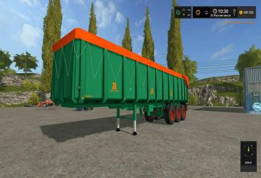 Aguas Tenias Trailer Truck36T v1.0