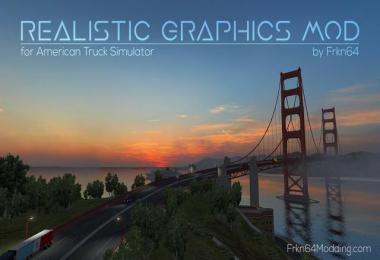 [ATS] Realistic Graphics Mod v2.3.0 by Frkn64
