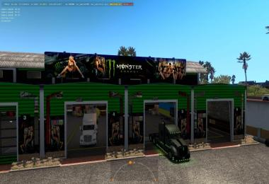 Big Garage Monster Energy Drink 1.32
