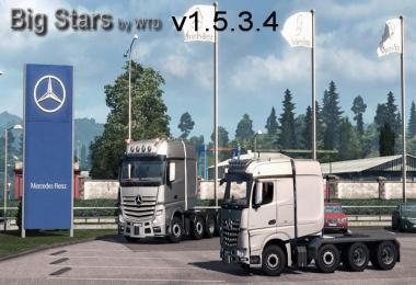 Big Stars - Actros / Arocs SLT v1.5.3.4