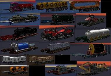 Chris45 Heavy Trailers Pack for ATS v2.0