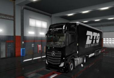 Dolo Trans Olimpic Skin for Mercedes MP4 v1.0