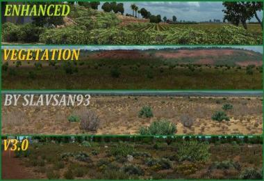 Enhanced Vegetation v3.0 1.29.x-1.32.x