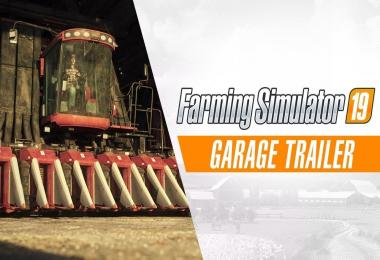 Enter the Farming Simulator 19 garage