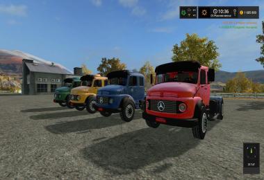 Мercedes Benz B1519 v1.0.0.0