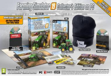 Farming simulator 19 Collector's Edition on PC