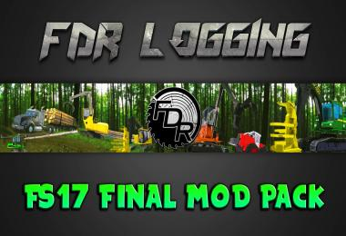 FDR Logging - V13F - Final FS17 Logging Pack