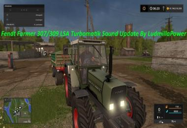 Fendt Farmer 307/309 LSA Sound Update By Ludmilla Power