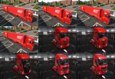 Ferrari Truck and Ownership Trailer Skin Set v1.0