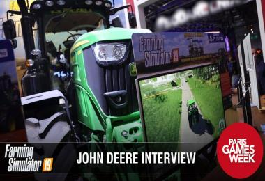Interview with John Deere at PGW 2018