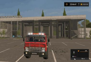 Kamaz 4310 Turbo MR v1.0