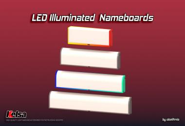 Kelsa LED illuminated nameboards v1.1 (18.11.2018) 1.32.x