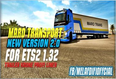 Krone Trailer Maro Transport For ETS2 1.33