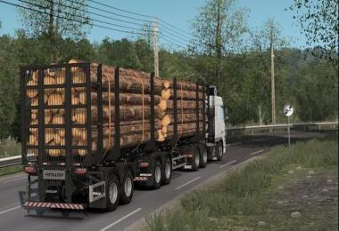 Metalesp Bi-Train Wood Transport 7 Axles v1.0