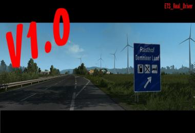 Mod Map Extension v1.0 for ETS2
