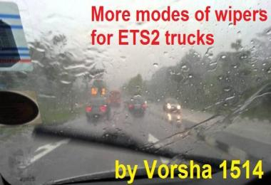 More modes of wipers for SCS Trucks 1.32.x