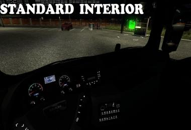 New Reworked Interior for MAN TGX v1.0