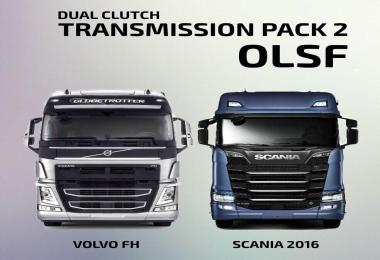 OLSF Dual Clutch Transmission Pack 2 for Scania/Volvo 1.33