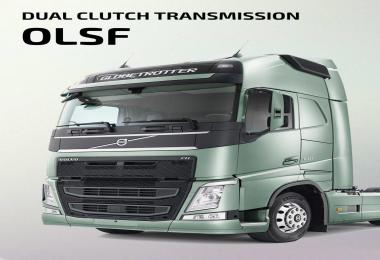 OLSF Dual Clutch Transmission Pack for Volvo FH 2012 v1.0